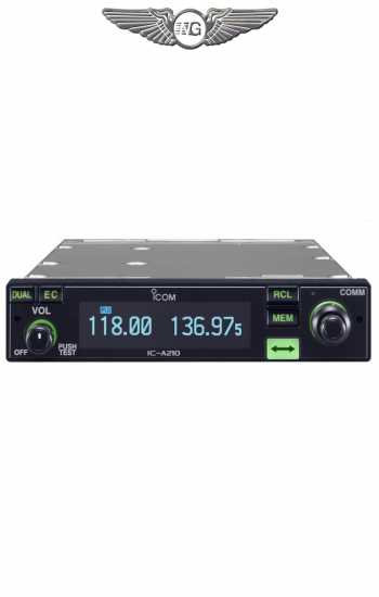 RADIO ICOM IC A210 E id=
